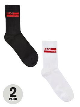 hugo-bodywearnbspsports-sock-gift-set-2-pack-blackwhite