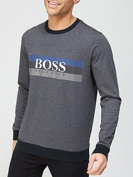 boss-bodywear-authentic-sweatshirt-charcoal