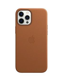 Apple Iphone 12 Pro Max Leather Case With Magsafe - Saddle Brown
