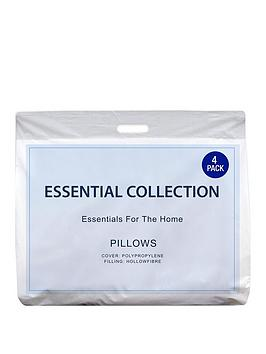 Essentials Collection Essentials Pack Of 4 Pillows