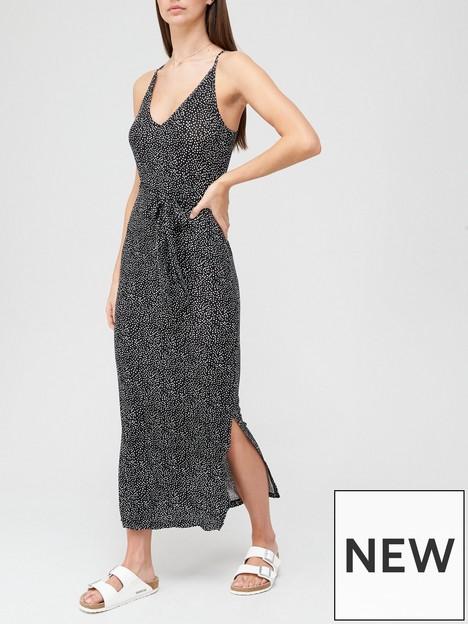 v-by-very-strappy-belted-midi-dress-black-spotnbsp