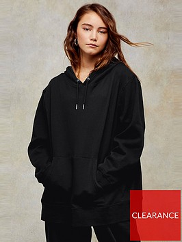 topshop-overlock-hoodienbsp--black