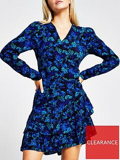 ri-petite-floral-ruffle-hem-tea-dress-blue