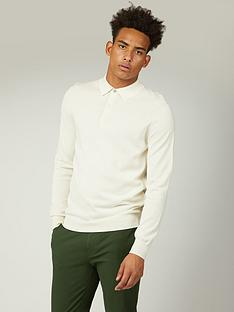 ben-sherman-ben-sherman-signature-cotton-long-sleeved-polo