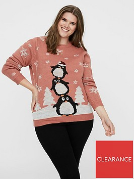 junarose-junarose-pingo-christmas-knit-jumper-old-rose