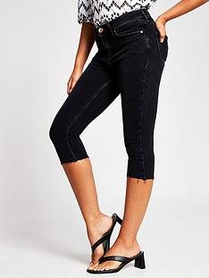 river-island-amelie-mid-waist-skinny-pedal-pusher-jean-washed-black