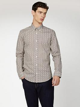 ben-sherman-ben-sherman-long-sleeve-micro-intricate-paisley-shirt-ivoryprint