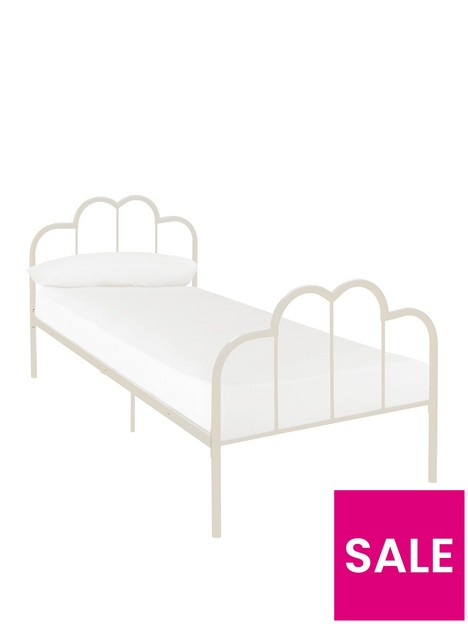 boho-style-metalnbspkids-bed-ivory