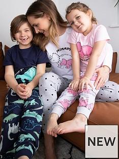 mini-v-by-very-girls-mothers-day-dinosaur-mini-menbsppyjamas-multi