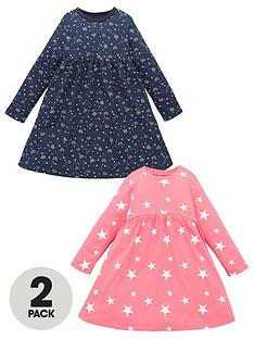 mini-v-by-very-girls-2-pack-star-and-rainbow-printed-dresses-multi
