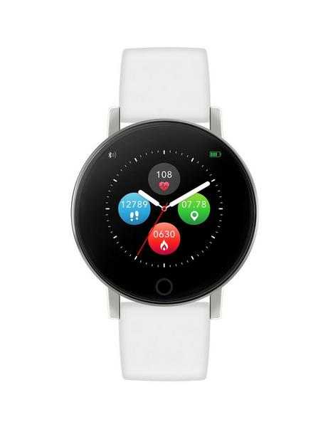 reflex-active-reflex-active-series-5-smart-watch-with-heart-rate-monitor-colour-touch-screen-and-white-silicone-strap