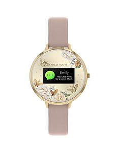 reflex-active-reflex-active-series-3-smart-watch-with-floral-detail-colour-screen-crown-navigation-and-lilac-strap