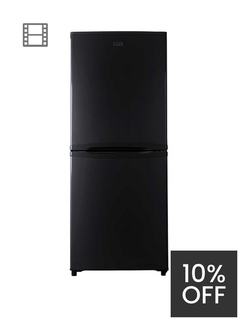candy-csc1365ben-static-fridge-freezer-black