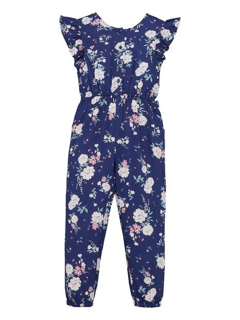 mini-v-by-very-girls-floral-woven-ruffle-short-sleeve-jumpsuit-multi
