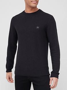 boss-kustorio-knitted-jumper-black