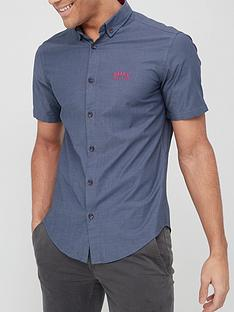 boss-biadia-short-sleeve-oxford-shirt-navy