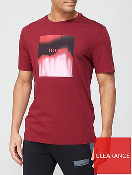 boss-tiris-dip-dye-logo-t-shirt-burgundy