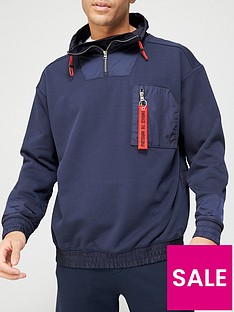 hugo-damboo-quarter-zip-jacket-dark-bluenbspnbsp