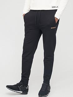 hugo-dibex-signature-reflective-logo-joggers-black