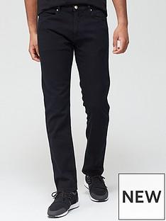 hugo-708-slim-fit-stretch-jeans-black