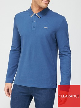 hugo-donol-211-long-sleeve-polo-shirt-dark-blue