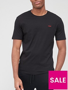 hugo-dero-2-small-logo-t-shirt-black