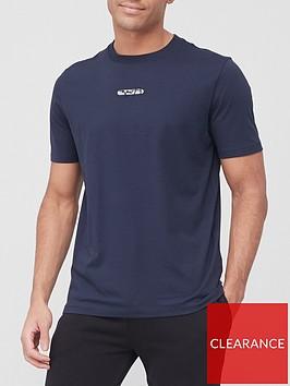 hugo-durned-logo-t-shirt-dark-blue