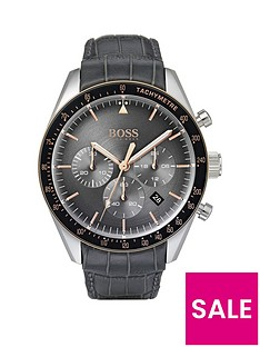 boss-trophy-grey-chronograph-rose-tone-accents-grey-leather-strap-watch