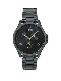 hugo-risk-black-multi-dial-black-bracelet-watch