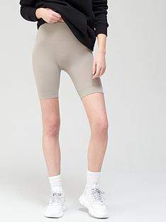 v-by-very-minimal-seam-cycling-short-taupe