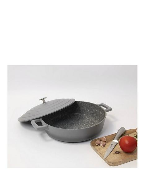 masterclass-cast-aluminium-28-cm-shallow-casserole-dish-with-lid