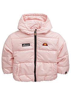 ellesse-infantnbspgirls-valina-padded-jacket-pink