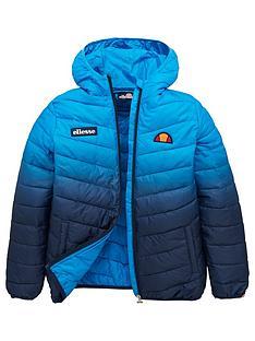 ellesse-boys-umberion-junior-padded-jacket-blue