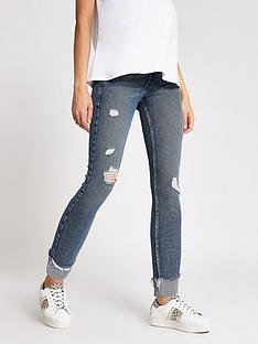 river-island-amelie-overbump-distressed-jeans-dark-denim