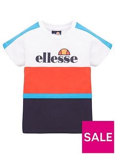 ellesse-boys-ardinta-infant-t-shirt-whiterednavy