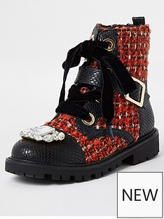 river-island-girls-embellished-boucle-boots--nbspredblack