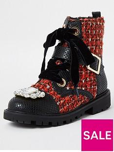 river-island-girls-embellished-boucle-boots--nbspredblack