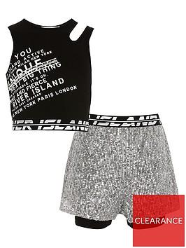 river-island-girls-sequin-shorts-and-crop-top--nbspblack