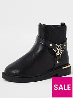 river-island-mini-mini-girls-harness-boot-black