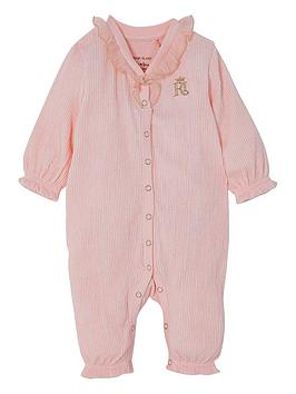 river-island-mini-baby-girls-frill-textured-all-in-one-pink