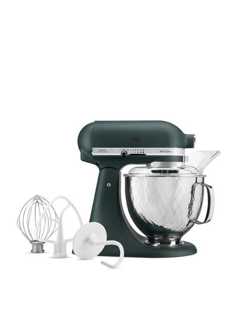 kitchenaid-pebbled-palm-156-stand-mixer-with-quilted-bowl