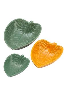 mason-cash-in-the-forest-set-of-3-leaf-dishes