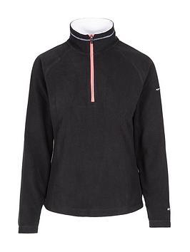 Trespass Skylar Fleece, Black, Size Xs, Women