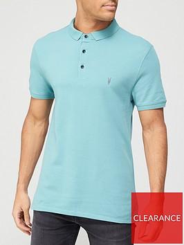allsaints-reform-short-sleeve-polo-shirt-blue