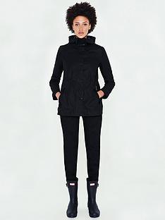 hunter-original-lightweight-rubberised-jacket-black
