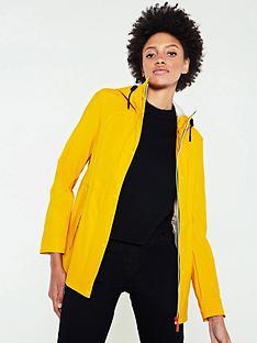 hunter-original-lightweight-rubberised-jacket-yellow
