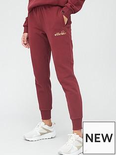 ellesse-heritage-quen-joggers-burgundy