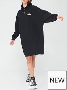 ellesse-heritage-bellize-sweat-dress-black