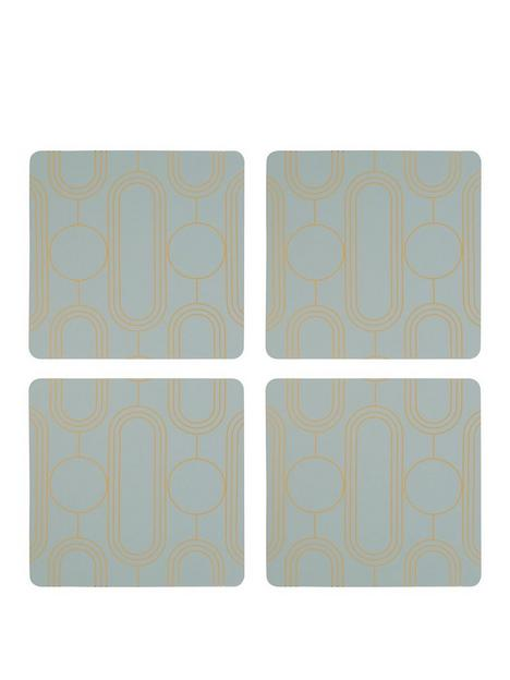 premier-housewares-frosted-deco-coasters