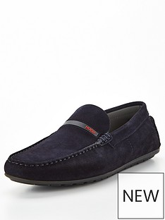 hugo-dandy-suede-moccasin-loafers-navy